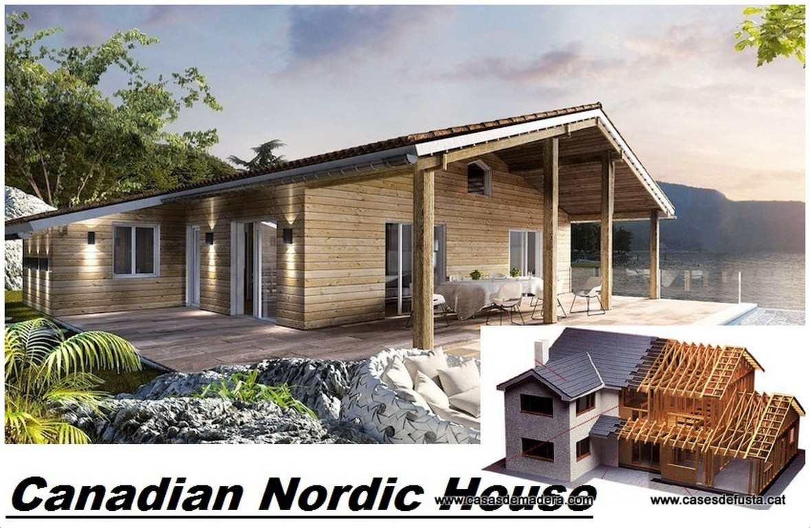 CNH construccions de cases de fusta | <span class =