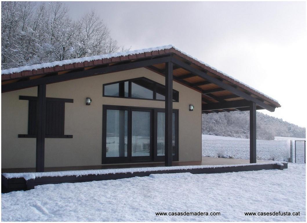 Primera empresa con certificado dite - Casas con estructura de madera ...