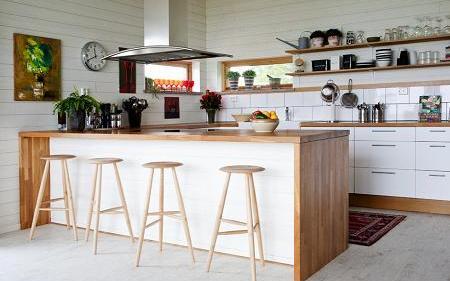 CNH construcciones de casas de madera   COCINAS IKEA