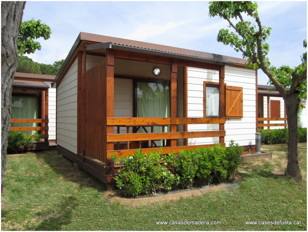 Los bungalows cnh semim viles tienen un chasis de acero - Bungalow de madera ...