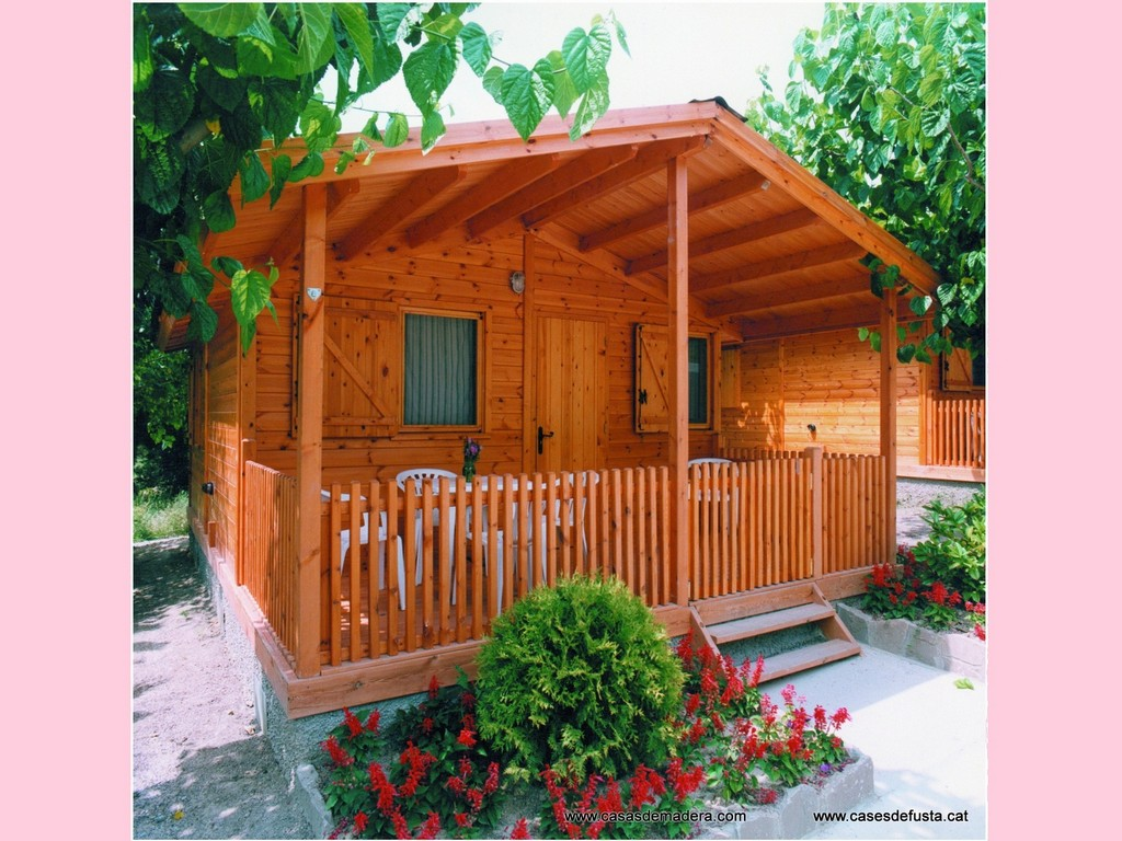 Los bungalows cnh semim viles tienen un chasis de acero - Construcciones de casas de madera ...