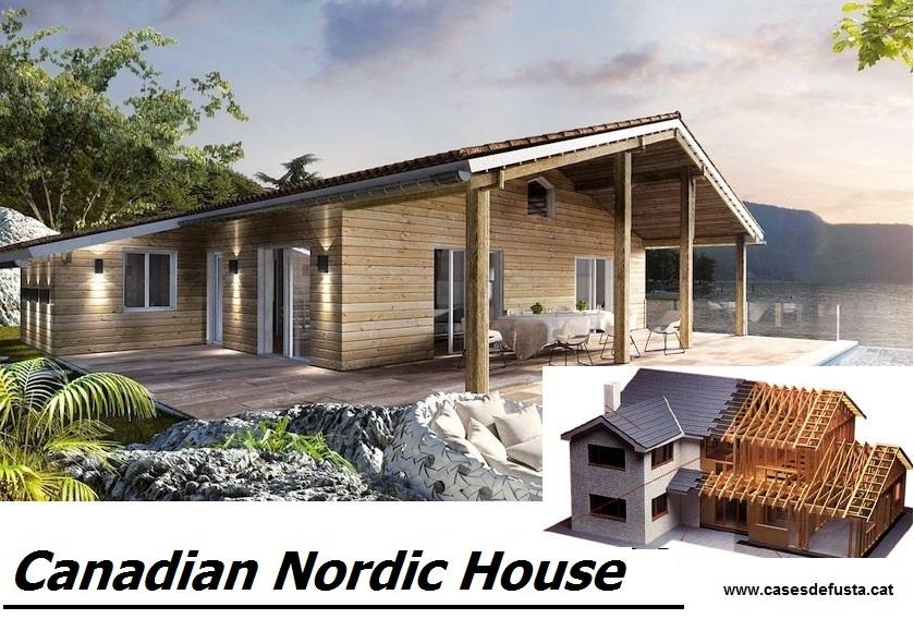 Fachadas en madera tratada - Construcciones de casas de madera ...