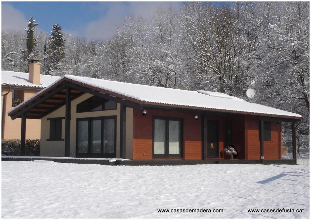 Canadian nordic house - Construcciones de casas de madera ...