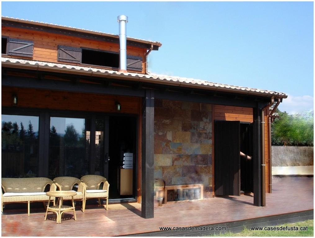 Canadian nordic house - Tocar madera casas ...