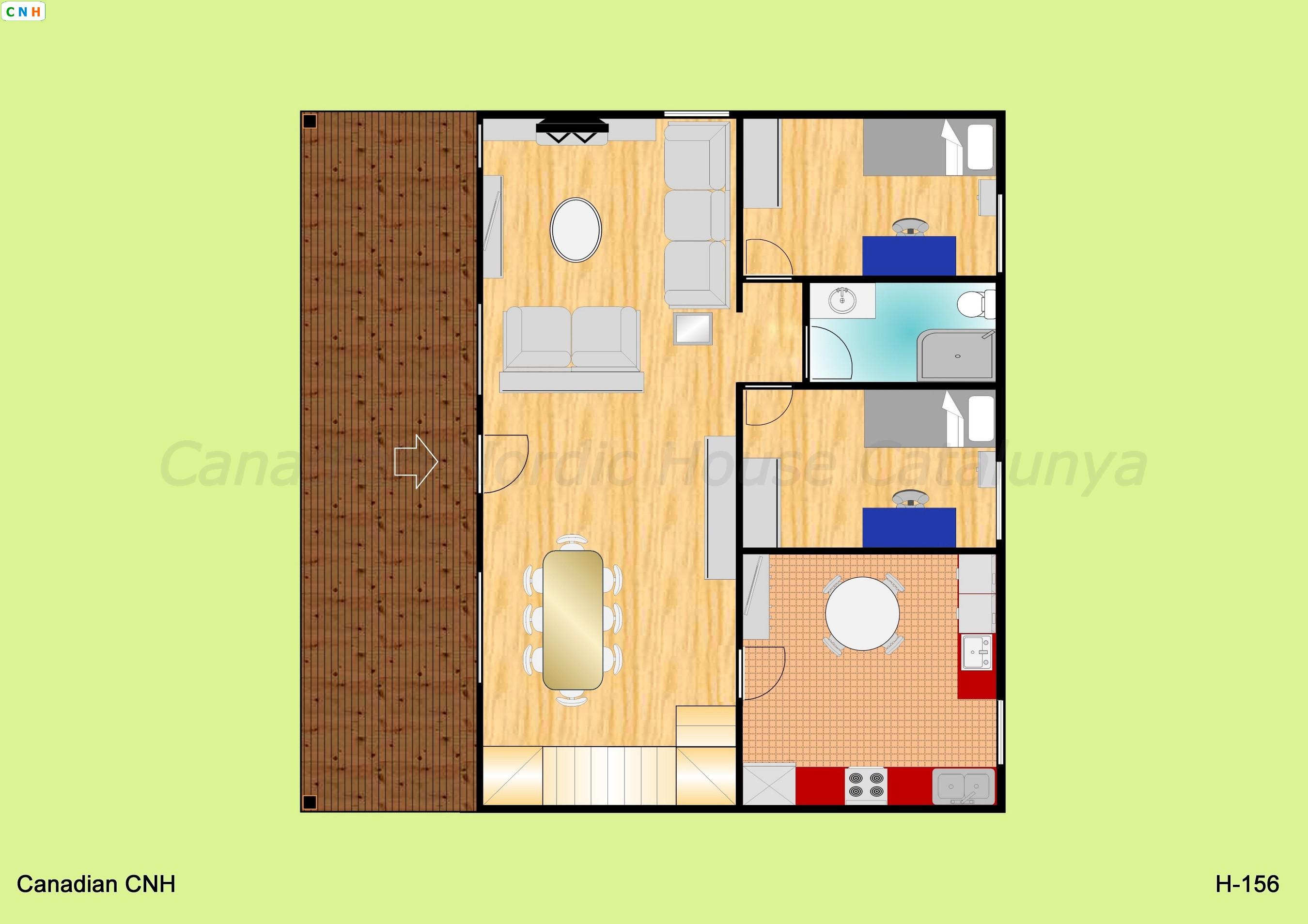 H 156 - Construcciones de casas de madera ...