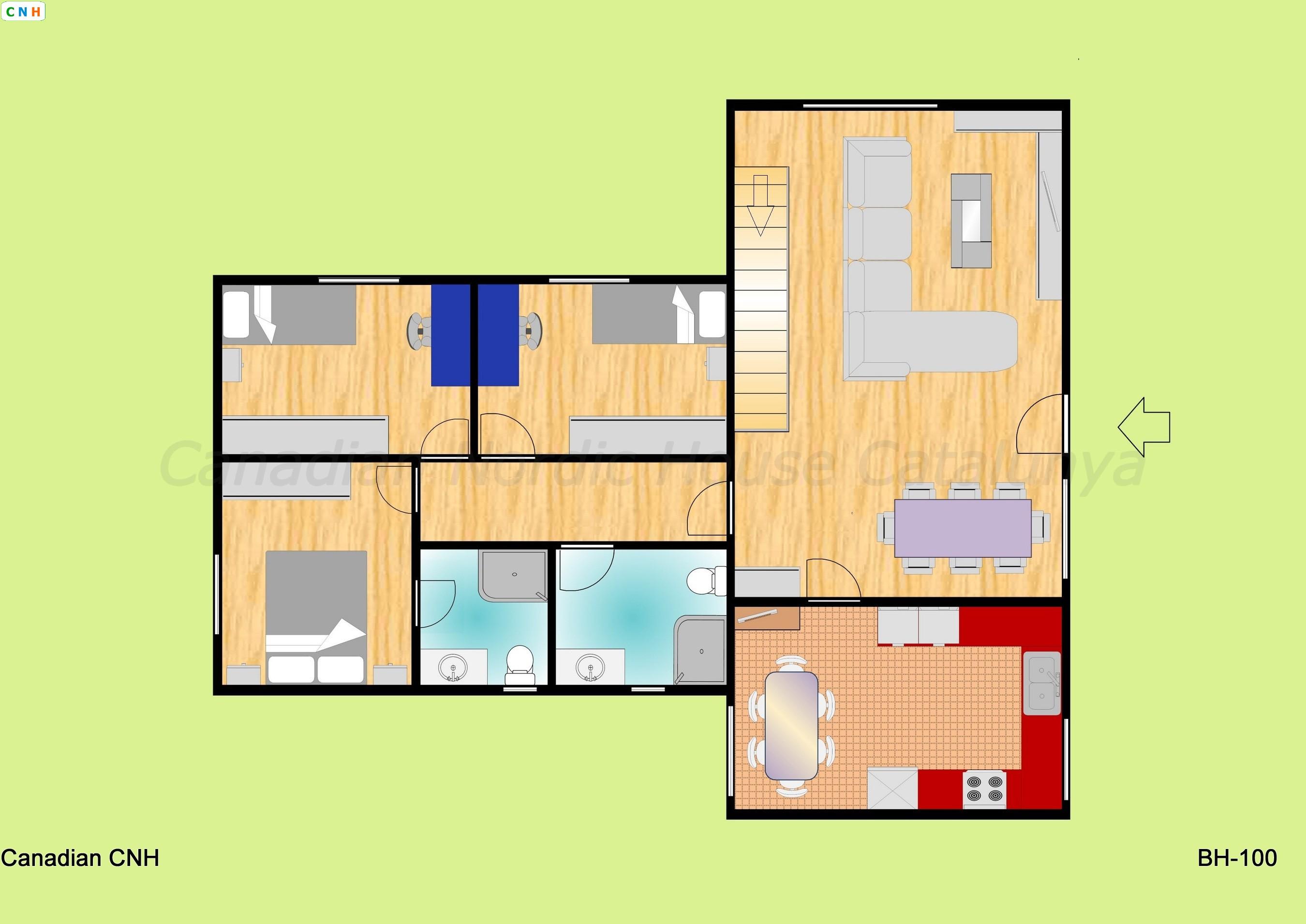 Bh 100 - Construcciones de casas de madera ...