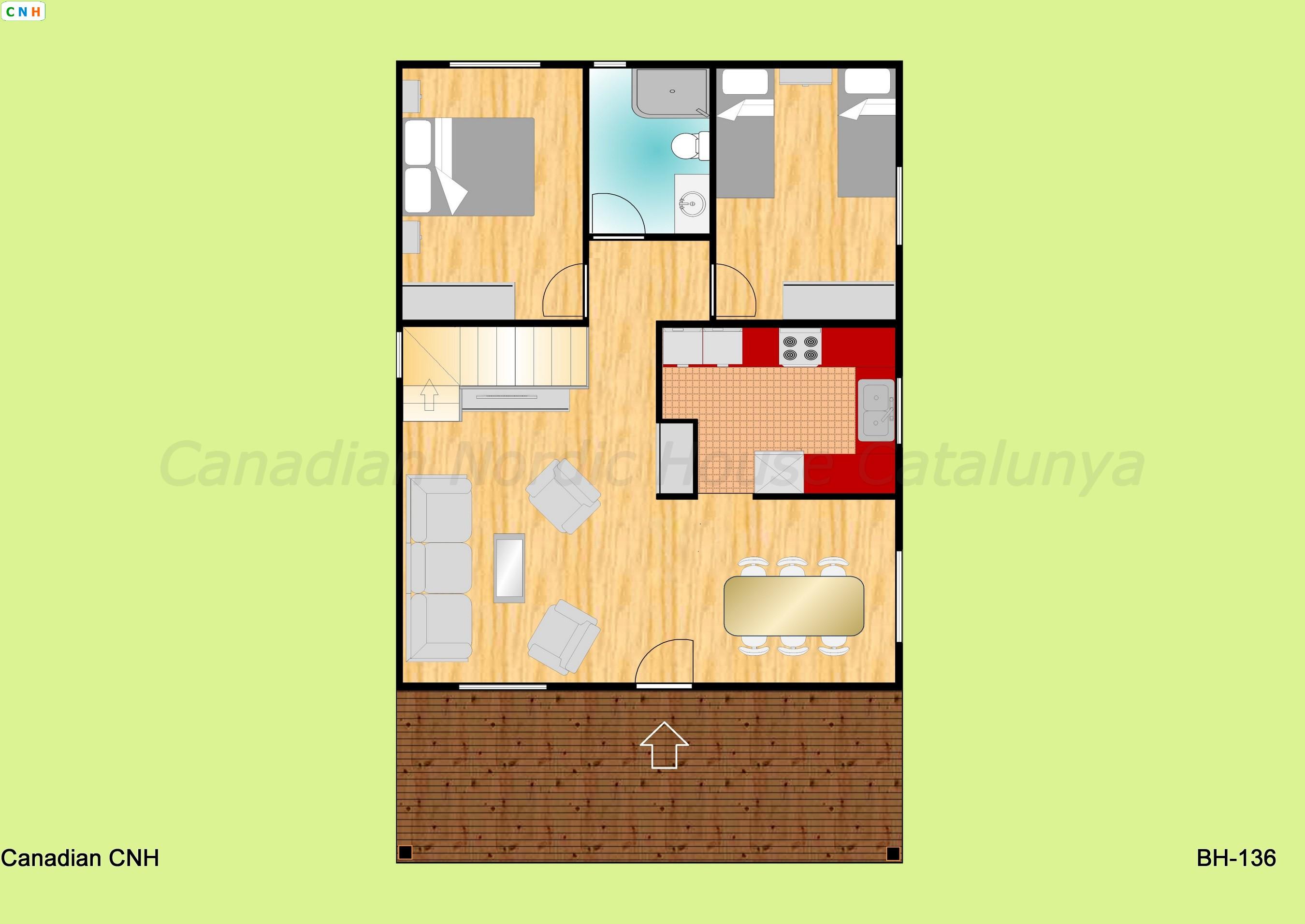 Bh 136 - Construcciones de casas de madera ...