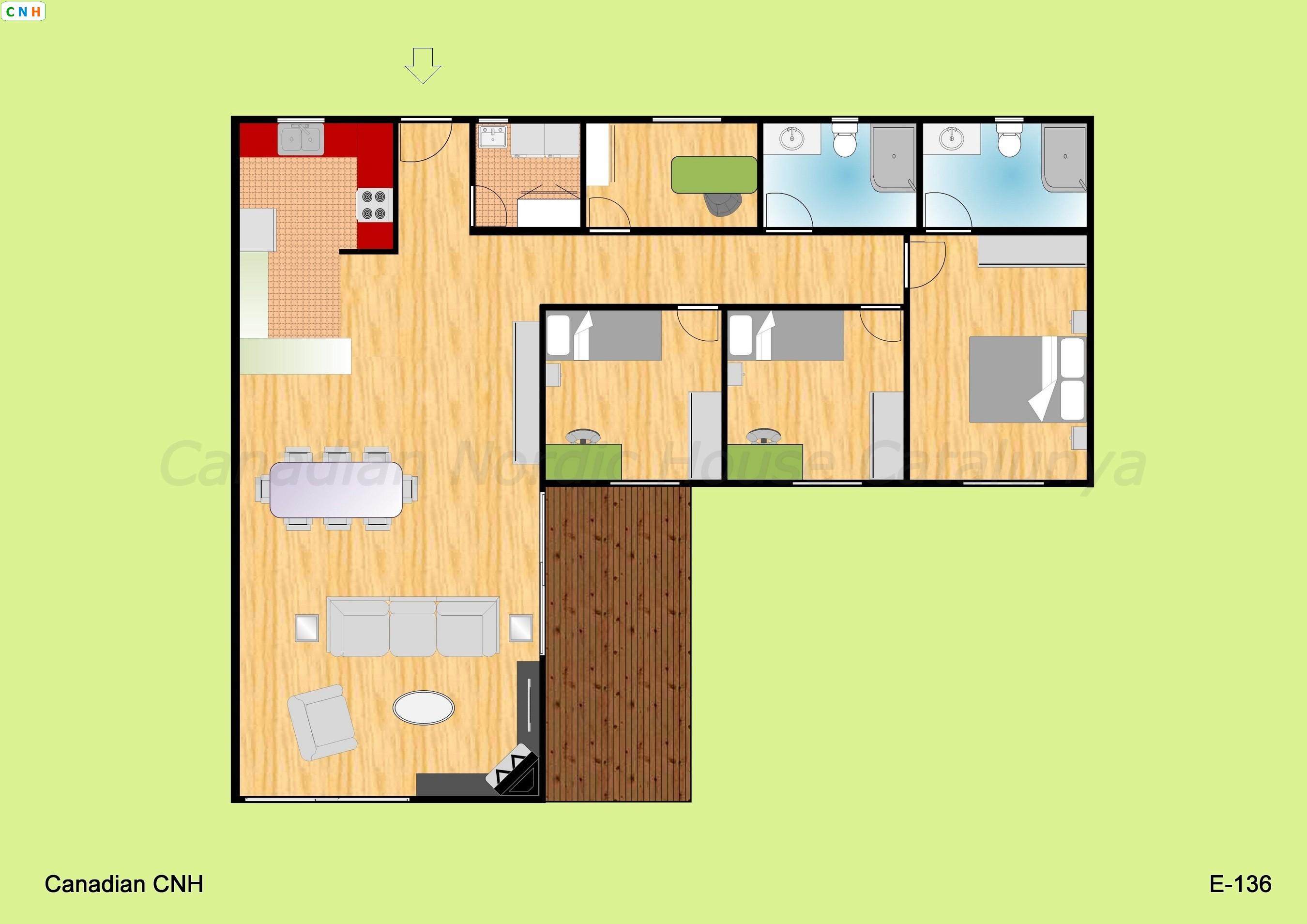 E 136 - Construcciones de casas de madera ...