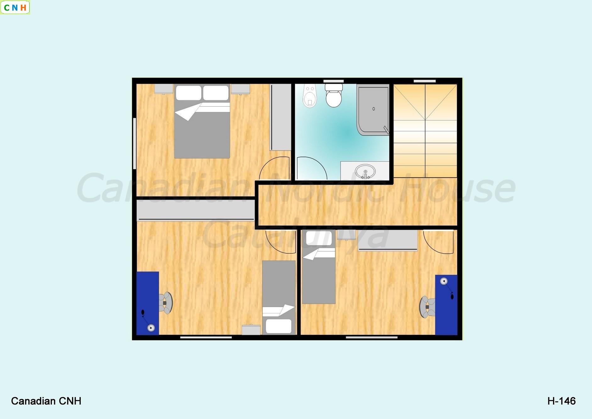 H 146 - Construcciones de casas de madera ...