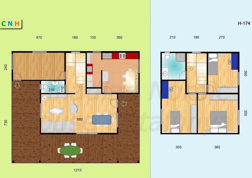Viviendas de 2 plantas - Construcciones de casas de madera ...